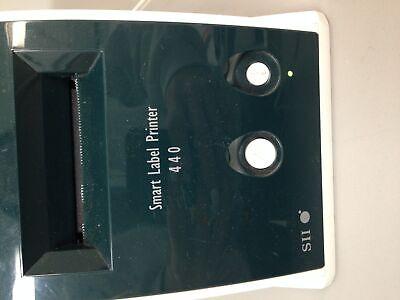 Seiko SII Smart Label Printer 440 SLP 440 w/ Power Supply