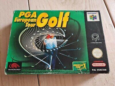 PGA European Tour Golf * Nintendo 64 * N64* PAL