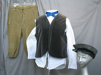 Boys Civil War Costume (Boys Victorian Costume Edwardian Civil War Style Newsies)