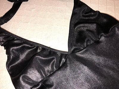 SEXY HALLOWEEN COSPLAY WOMENS LEG AVENUE HOOCHIE LAS VEGAS DRESS BLACK ONE SIZE