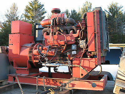 125 Kw White Diesel Generator