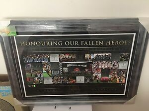"Collingwood ""Anzac Day"" signed Ltd Etd print Darch Wanneroo Area Preview"