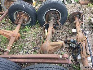 1985 Toyota axles