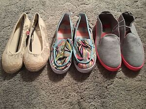 3 Brand New Pairs of Shoes Size 9