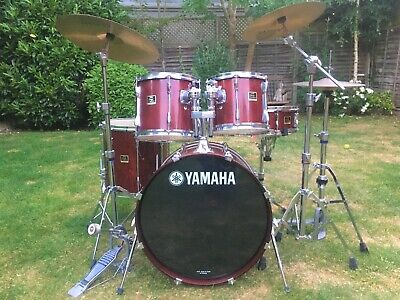 Yamaha Stage Custom Drum Kit - Complete Sabian Cymbals And  Hardware