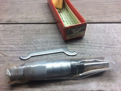 New Mitutoyo 153 0 -1 Micrometer Head Carbide Tipped .0001