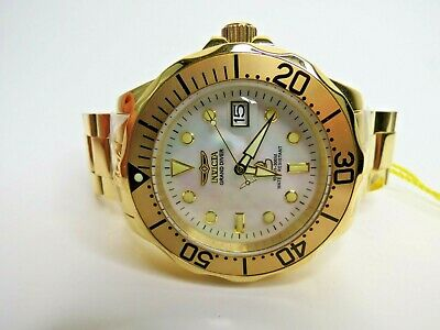Invicta Grand Diver Men's Watch Automatic Gold 47mm 13939