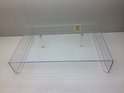Clear Plastic Plexiglass Counter Table Top Display Stand
