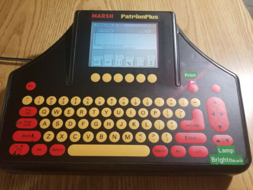 Marsh PatrionPlus Printer Operator Panel 30345