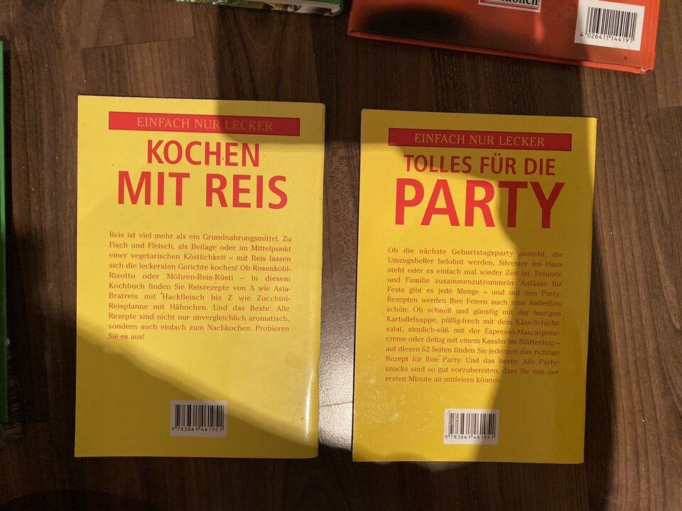 Kochbuch diverse Kochbücher Nudeln Party Reis Asia in Hessen - Mühlheim am Main