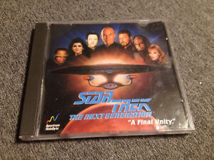 "Star Trek TNG ""A final unity"" PC GAME"