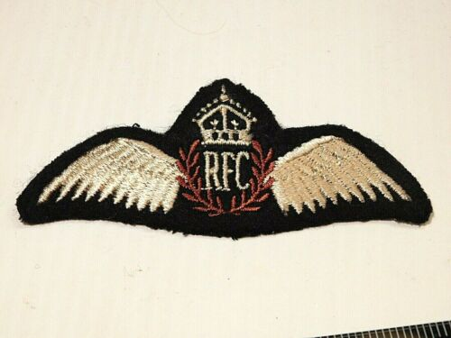 ORIGINAL WW2 ERA ROYAL FLYING CORPS PILOT WING - CANADIAN MADE
