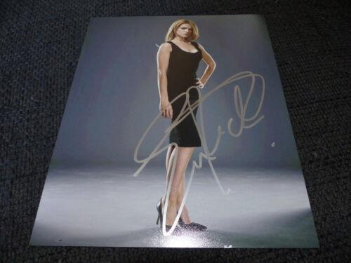 """ERIN RICHARDS signed Autogramm auf 20x25cm """"GOTHAM"""" Foto InPerson LOOK"""