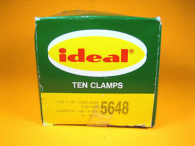 Ideal  5648  Ten Clamps Fits 1-1/2