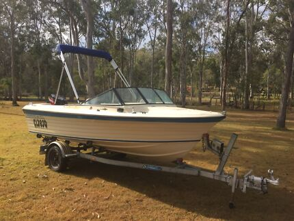 4.6m Sportsman Craft with 2007 90hp Tohatsu Engine Greenbank Logan Area Preview