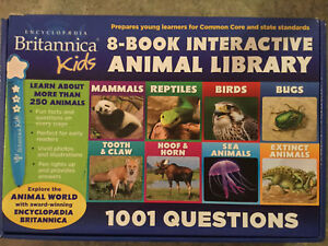 Interactive animal library