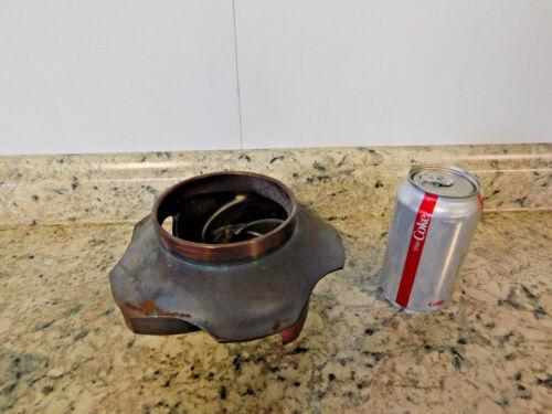 """NEW Pump Impeller 7 1/2"""" Diameter, 5 Vane, CD4M Stainless Steel SS NEW"""