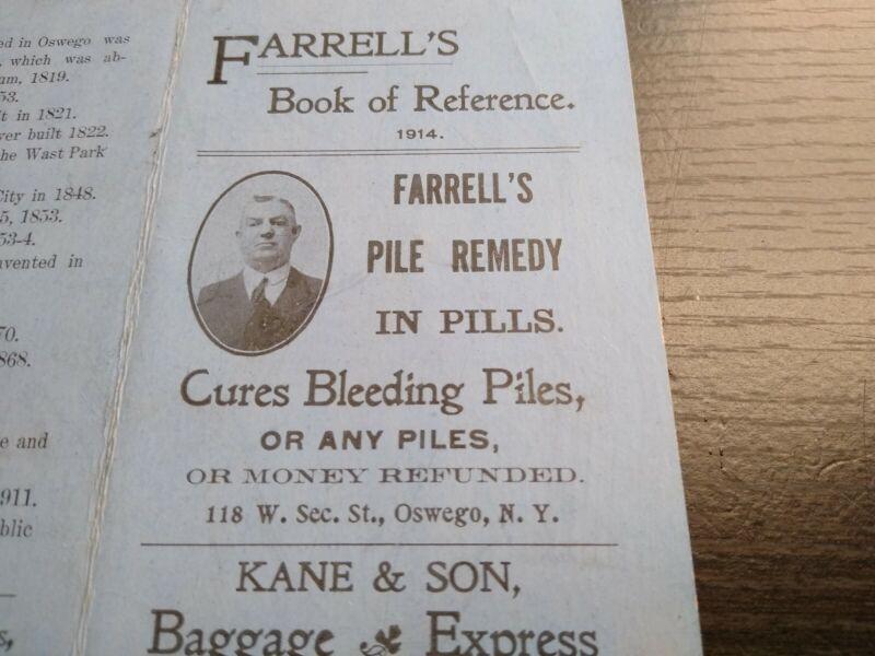 1914 Oswego NY Directory Farrell