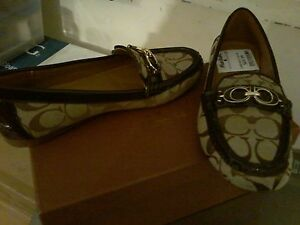 COACH SHOES, SIZE 7.5 Med. & ALSO a Grey/Pink runner size 8