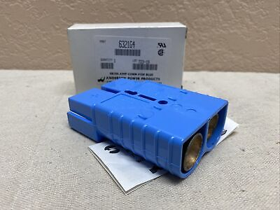 Anderson Sb350 2 Pole Battery Connector Kit Blue Authentic Anderson Power