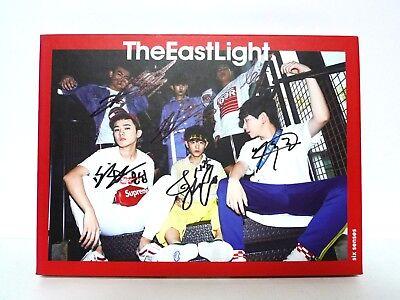 The East Light Six senses Autographed Promotion Album CD+Photocard K-POP