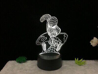Spider Man 3D Illusion - Night Light