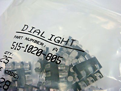 25 Dialight 515-1020-805 3 Element Led Optical Light Pipe Right Angle Shielded