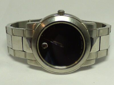 Movado 84.E4.1893 Museum Stainless Steel Wristwatch 37mm Case