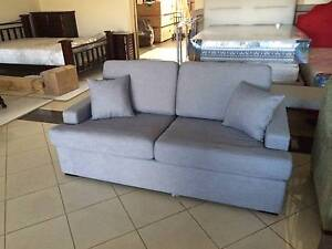 Pull out 3 seater sofa with real double size mattress Kingsgrove Canterbury Area Preview
