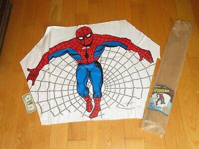 Vintage 1979 Sky Way SPIDERMAN Spider Man High Flying Kite Comic book superhero Flying Kite Book