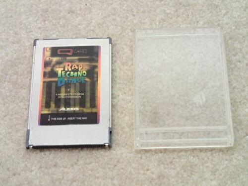 Alesis Vintage Q Card Rap Techno Dance PCMCIA Expansion Card