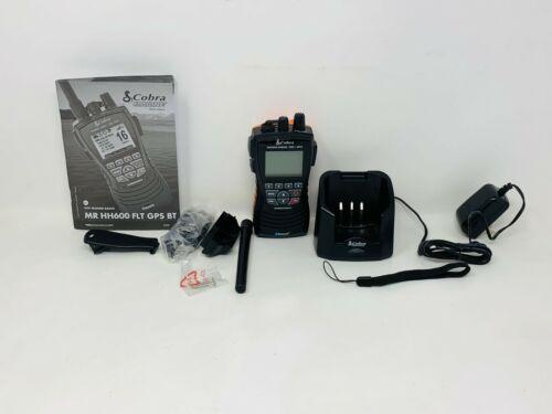Cobra Marine MR HH600 GPS BT Handheld Marine Radio