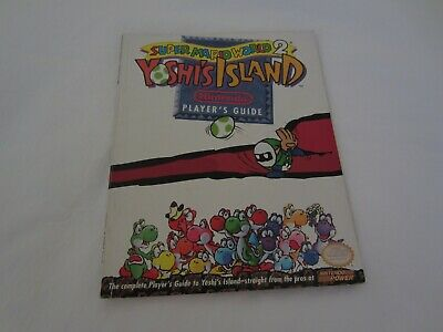 Super Mario World 2 Yoshi's Island SNES Super Nintendo Player's Strategy Guide