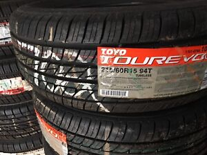 Tires new and used .
