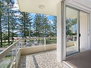 Large 3 Bed Apartment on The Esplanade Burleigh Heads Shailer Park Logan Area Preview