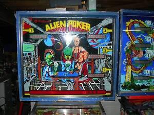 Williams Alien Poker Pinball Machine Arcadia Vale Lake Macquarie Area Preview