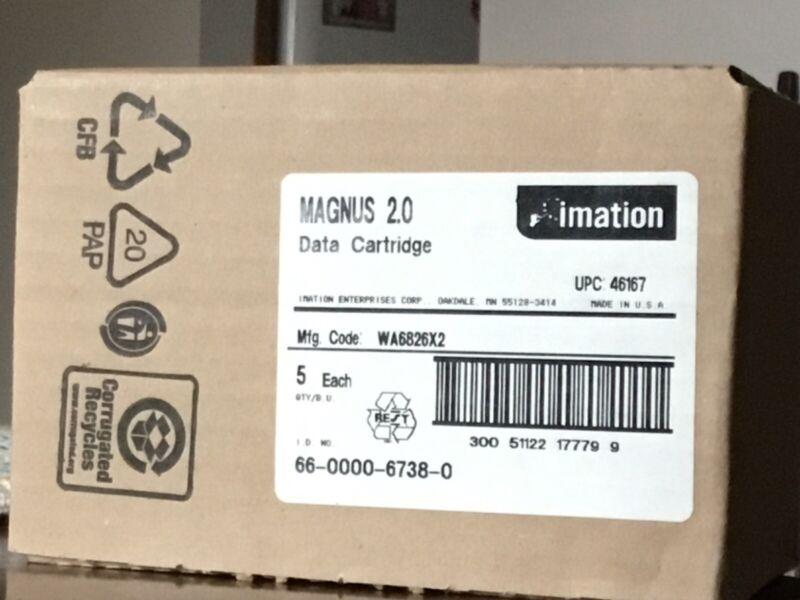 New Lot of 10 Imation 46167 SLR4 Magnus 2.0/4gb DC9200 Data Cartridges