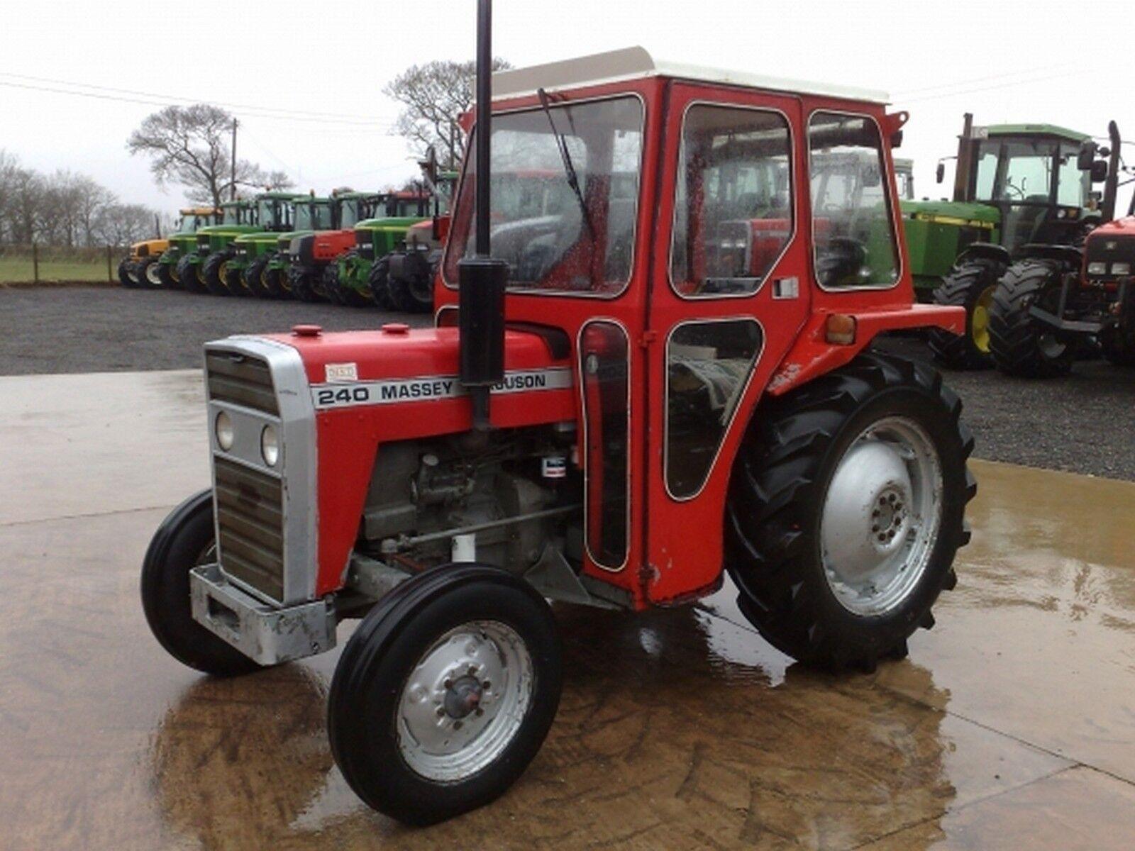 Mf 240 Tractor Grill : Massey ferguson  tractor workshop