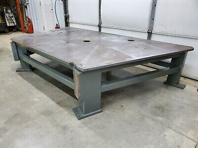 1 Thick Steel Fabrication Layout Welding Table Machine Base 60 X 108
