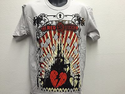 Disney Alice in Wonderland The Red Queen's Castle Classic Vintage Movie T Shirt