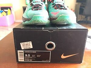 Lebron XII Christmas Day special edition