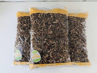 3 Pack 9oz Lot Brown Kraft Shred Shipping Crinkle Paper Fill Void Easter Grass