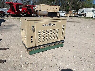 Generac 15kw Propanenatural Gas Generator 753 Hours