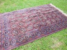 Lush vintage plummy purple hand-knotted Persian rug Drummoyne Canada Bay Area Preview