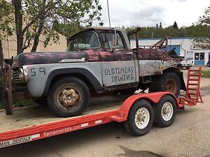 1959 M350 Mercury tow truck