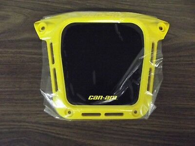 Can-Am Skid Plate, Yellow, V80113DGF01HYE