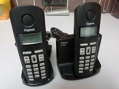 2x téléphones sans fil Siemens Gigaset AL140 Duo