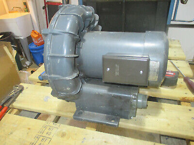 Fuji Electric Co. Ring Blower Regenerative Blower Model Vfc504a 2.5hp