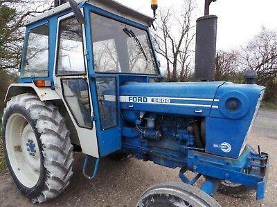 Ford 5600, 6600, 7600 Tractors - Operator's Manuals