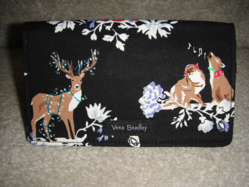 "VERA BRADLEY CHECKBOOK COVER in the NEW ""MERRY MISCHIEF""  NWT! $20 RETAIL"